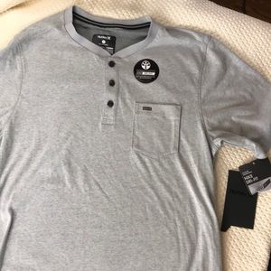 Hurley grey pullover with Nike Dri-Fit fabric